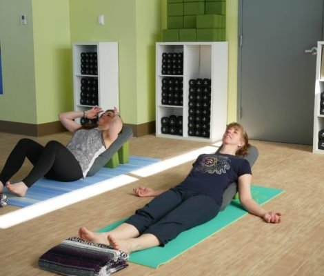 Yin/Restorative yoga at Studio